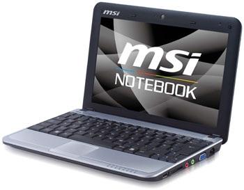 MSI Wind U110 ECO Power-Saving Netbook