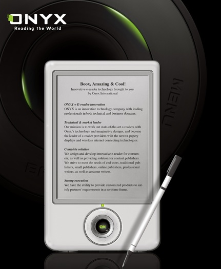 Onyx Boox ebook reader