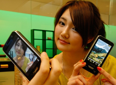 Samsung Haptic8M SCH-W740 Touchscreen Phone now official