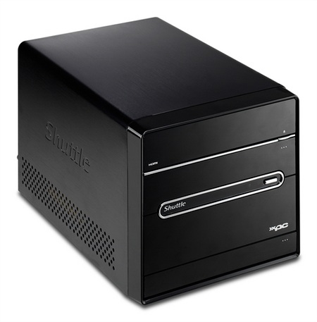 Shuttle XPC H7 4500H Mini PC with DVB-S tuner