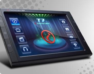 Thinkware ThinkNavi T7 - GPS, DVB-T Device