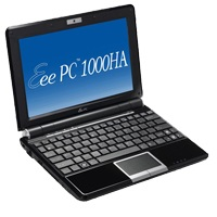 Asus Eee PC 1000HA now has Chiclet Keyboard
