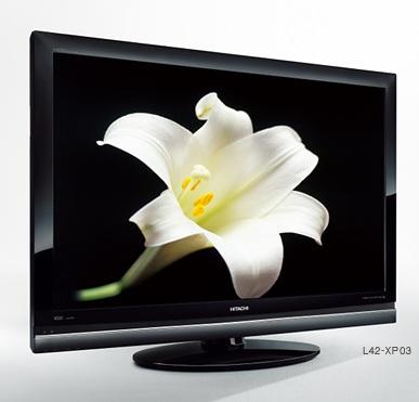 Hitachi Wooo 03 series Plasma/LCD HDTVs