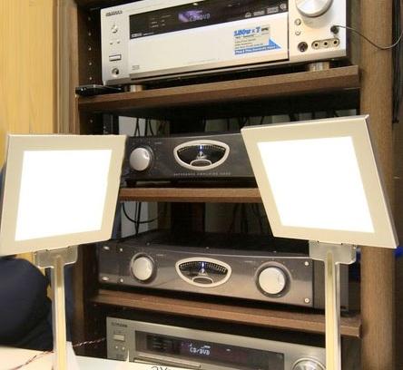 Kenwood OLED Light/Speaker