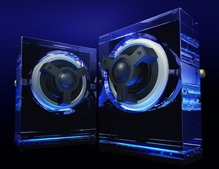 Kenwood SP0001 Glass Speakers