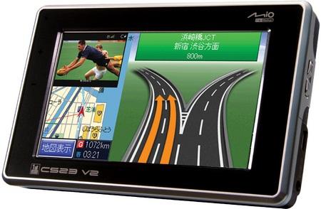 Mio C523 V2 GPS Navigator for Motorcycle