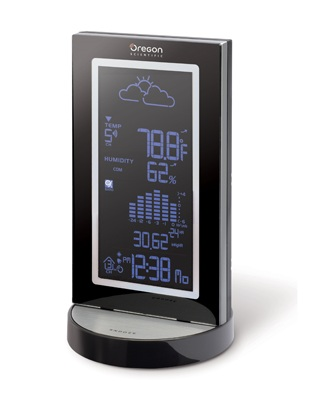 Oregon Scientific Blue Line Metal Weather Station