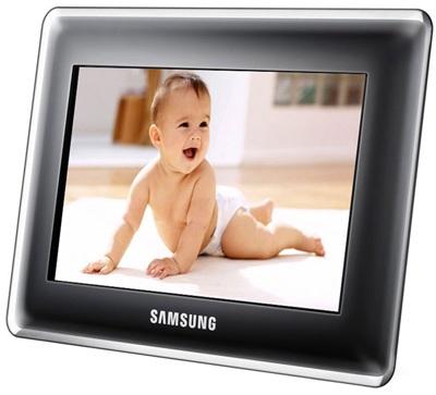 Samsung SPF-107H and SPF-87H Digital Photo Frames