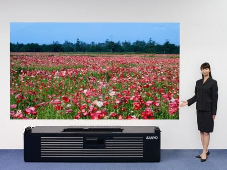 Sanyo Ultra Short-Throw Full HD DLP Projector