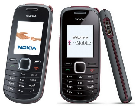 T-Mobile Nokia 1661 Entry-Level Phone