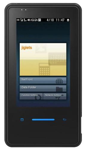 Willcom NS / Toshiba WS026T Touchscreen PDA Phone