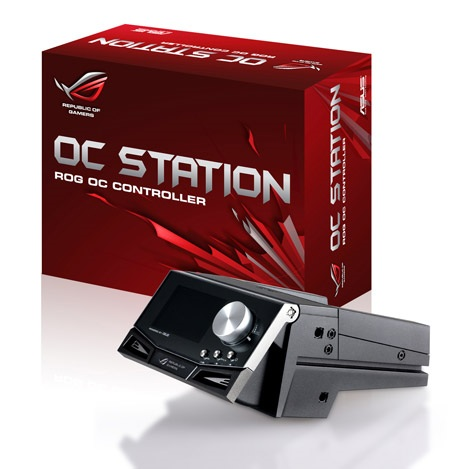 Asus ROG OC Station offers Hardware-based Overclocking