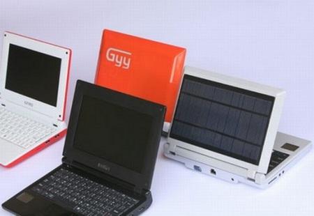 iUnika GYY Solar-Powered Netbook