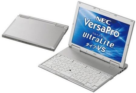 NEC VersaPro UltraLite Type VS ultra slim, ultra light netbook