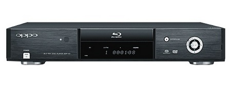 Oppo BDP-83 Blu-ray/SACD Player