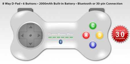 22Moo GameBone Pro iPhone Game Controller