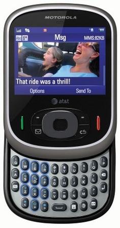 AT&T Motorola Karma QA1 QWERTY Slider