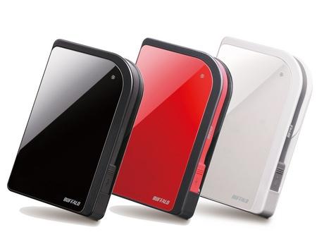 Buffalo HD-PXU2 Shockproof Portable Hard Drive
