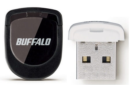 Buffalo RUF2-PS 16GB Tiny USB Flash Drive Black white