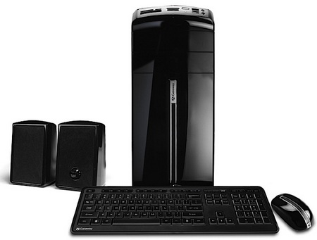 Gateway DX Series Mini-tower PC