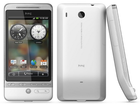 HTC Hero G3 Android Smartphone white