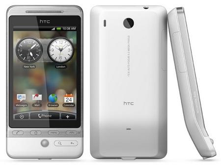 HTC Hero G3 Android Smartphone white