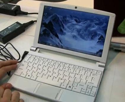 J&W Minix 881 Netbook
