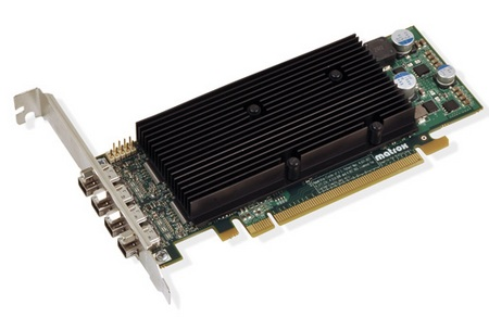 Matrox M9138 and M9148 DisplayPort Graphics Cards