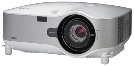NEC NP3250, NP3250W, NP2250 and NP1250 Digital Installation Projectors