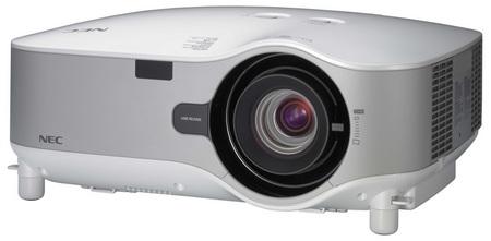 NEC NP3250, NP3250W, NP2250 and NP1250 Digital Installation Projectors