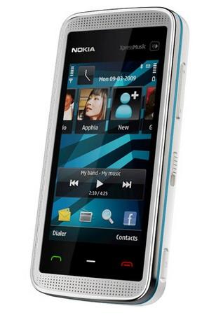 Nokia 5530 XpressMusic Touch Phone White