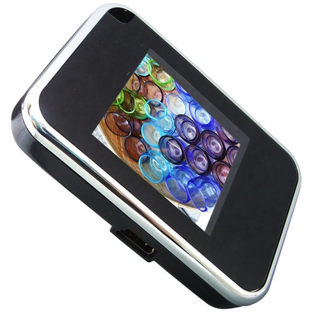 PHOTTY-GL15-BK Digital Frame Keychain