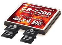 PhotoFast CR-7200 microSDHC to CF Converter