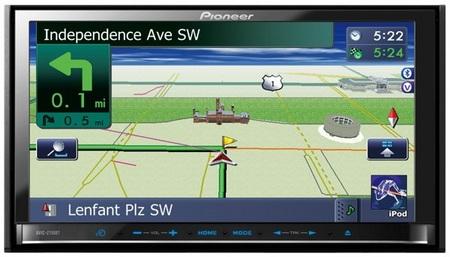 Pioneer AVIC-Z110BT Multimedia GPS Navigator