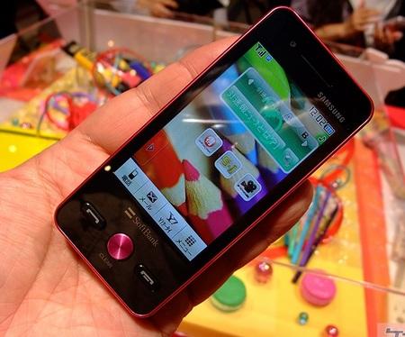 Softbank Samsung Omnia Pop 931SC Touch Phone 3