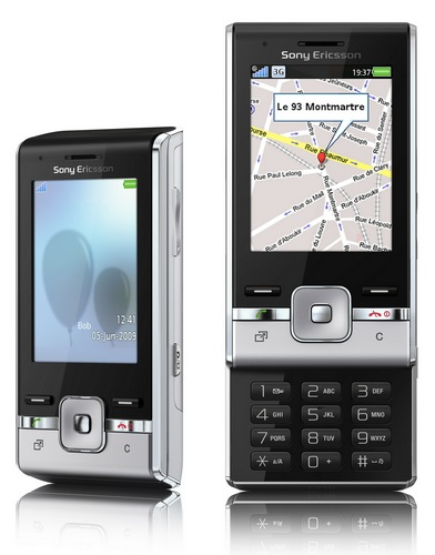 Sony Ericsson T715 HSPA Slider Phone front