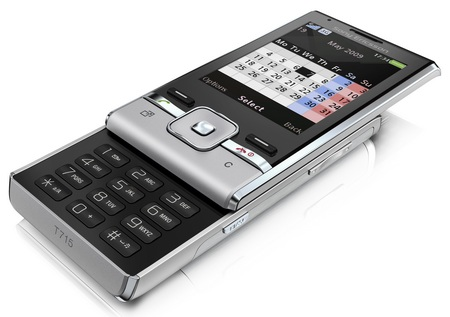 Sony Ericsson T715 HSPA Slider Phone