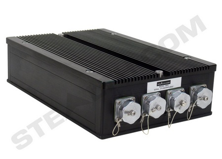 Stealth WPC-500F Rugged, Waterproof Fanless PC back