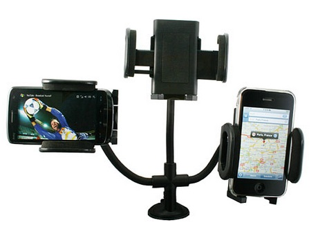 Universal Car Mount holds almost any devices