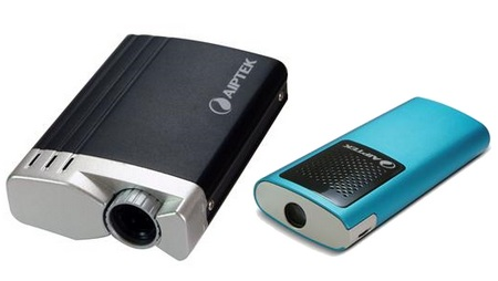 Aiptek T20 and T30 Pico Projectors