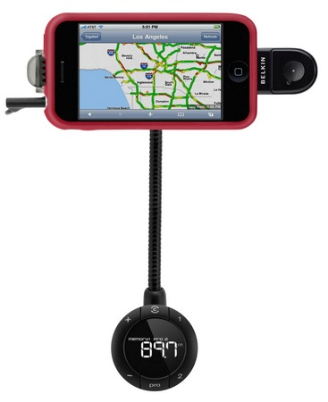 Belkin TuneBase FM and TuneBase Direct iPhone car hands-free