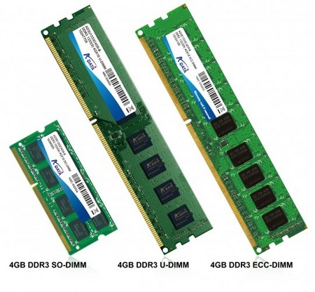 A-DATA 4GB DDR3 single module memory