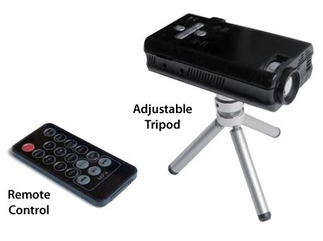 AAXA P2 Pico Projector Media Player tripod
