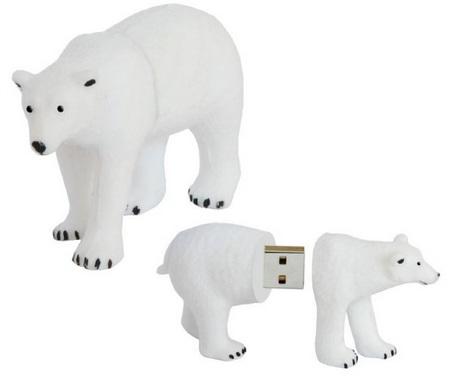 Active Media WWF Polar Bear USB Flash Drive