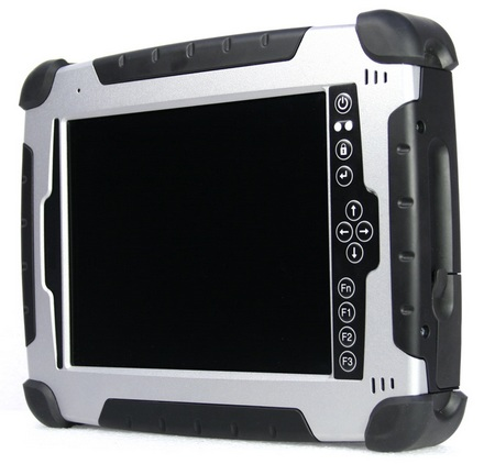 Duros 8404 Rugged Tablet PC with Atom angle