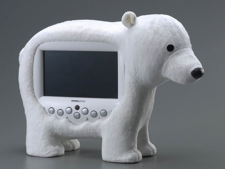 HANNSpree Animal Display solar bear