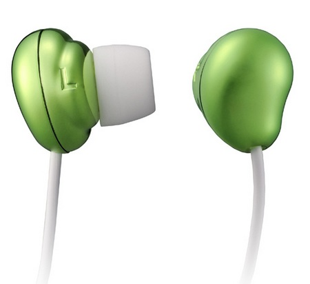 Hitachi Maxell HP-CN12 Bean-shaped Canal Earphones