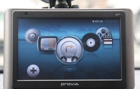 Hyundai Provia A7+ GPS Navigation Device