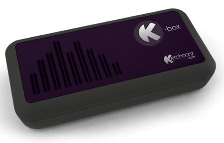Kerchoonz K-box Turning Surface into speaker