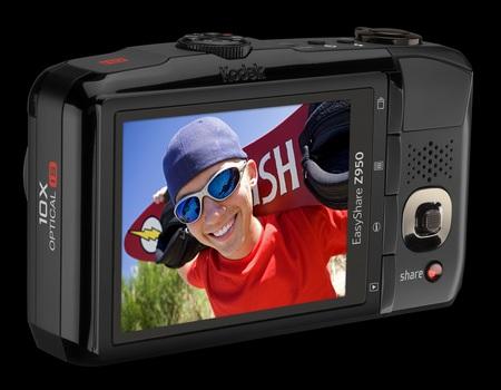 Kodak EasyShare Z950 10X Zoom Camera back